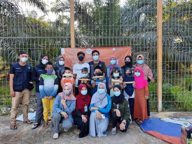 Mahasiswa UAD Pelopori Rumah Baca Teras Perbatasan di Kalimantan Utara (126719)