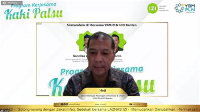 Bantuan Kaki Palsu untuk Difabel dari YBM PLN UID Banten dan IZI Banten (56476)