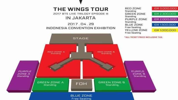Ini Detail Mengenai Konser Bts Di Jakarta Kumparan Com