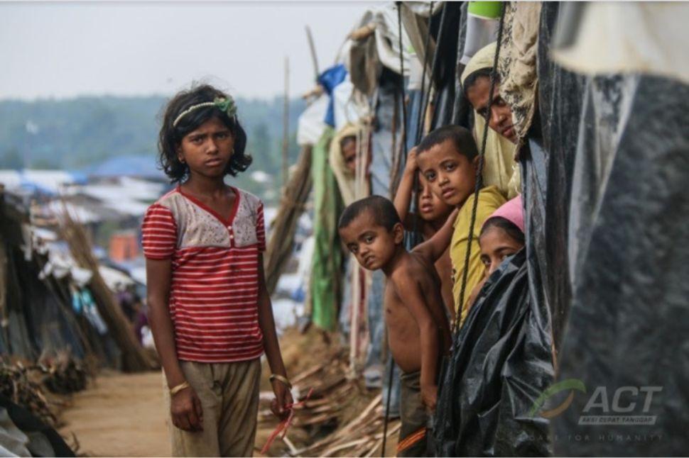 Kedermawanan Indonesia untuk Penyintas Konflik Rohingya