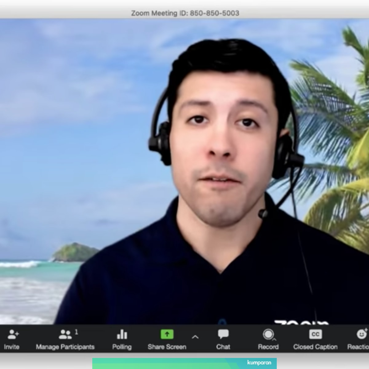 Cara Ganti Background Video Conference Di Aplikasi Zoom