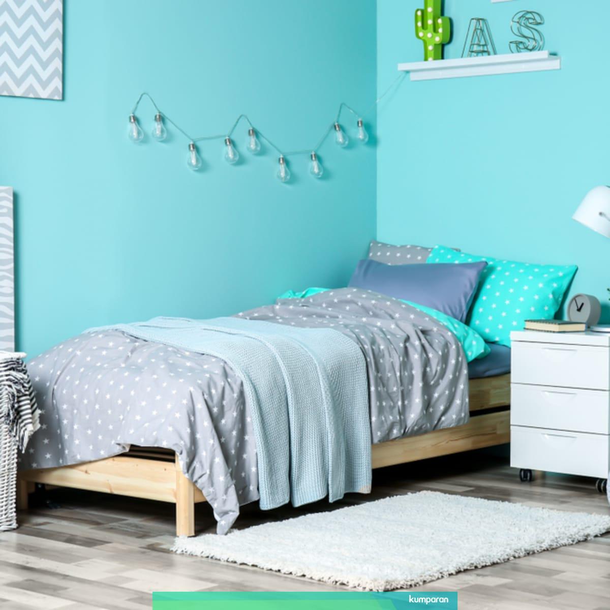 5 Tips Dekorasi Kamar Tidur Berukuran Kecil Agar Terlihat Lebih Luas Kumparan Com