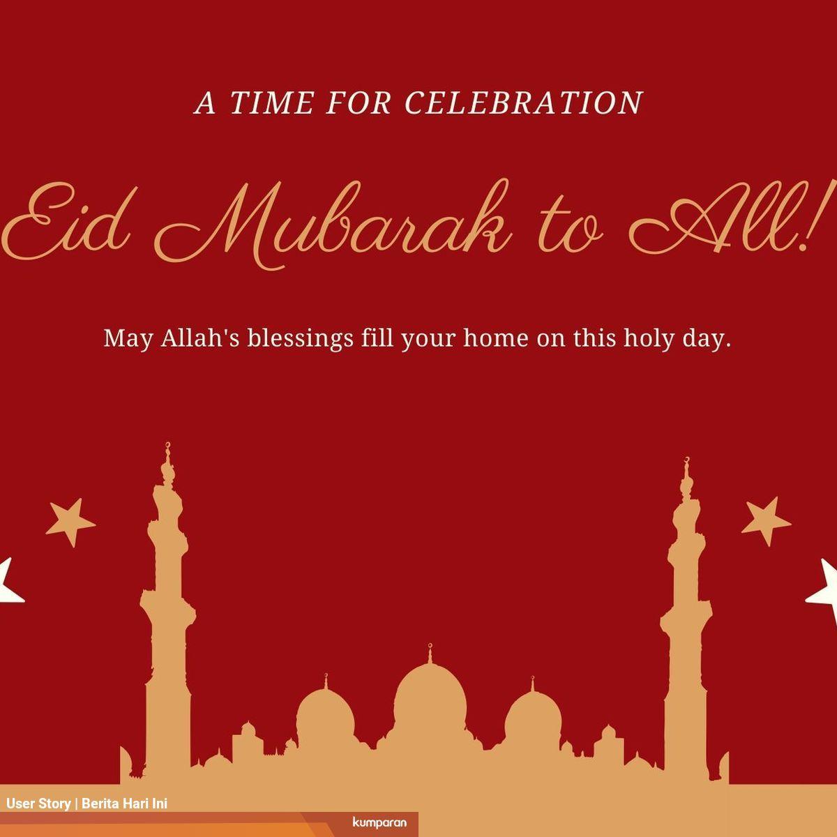 Ucapan Hari Raya Idul Fitri 2020 Edit Foto - kartu ucapan ...