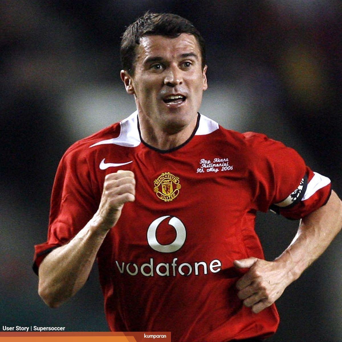 Senja Kala Roy Keane Di Manchester United Sudah Tak