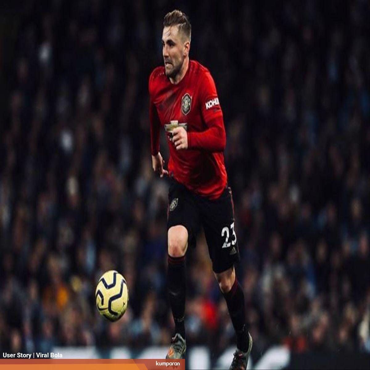 Pemain Manchester United Luke Shaw Ingin Premier League