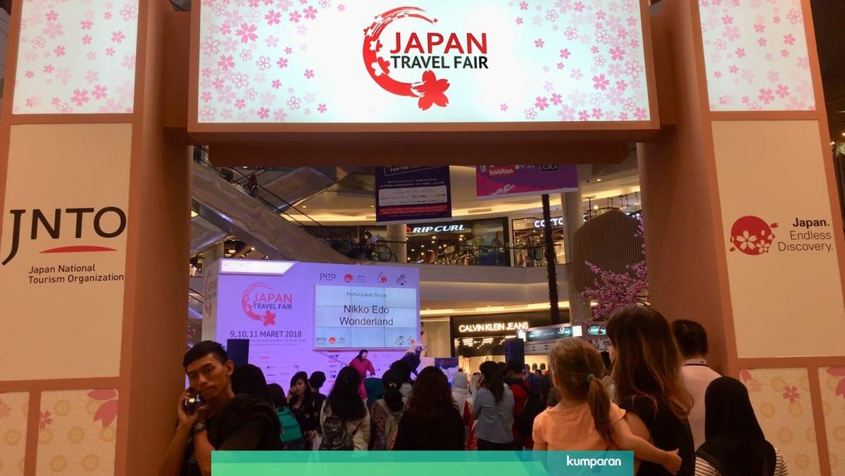 Wisatawan Indonesia Tumbuh Pesat Jepang Gelar Japan Travel Fair 2018 Kumparan Com