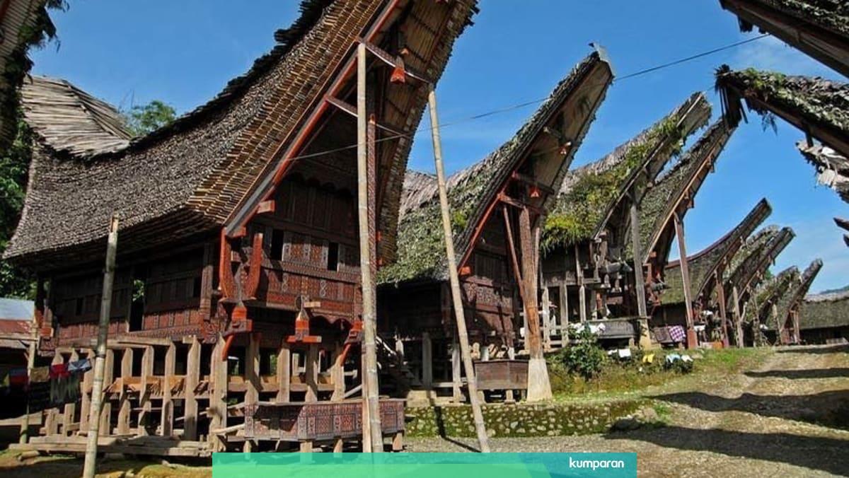 Mengenal Tongkonan Rumah Adat Toraja Yang Sarat Makna Kumparan Com