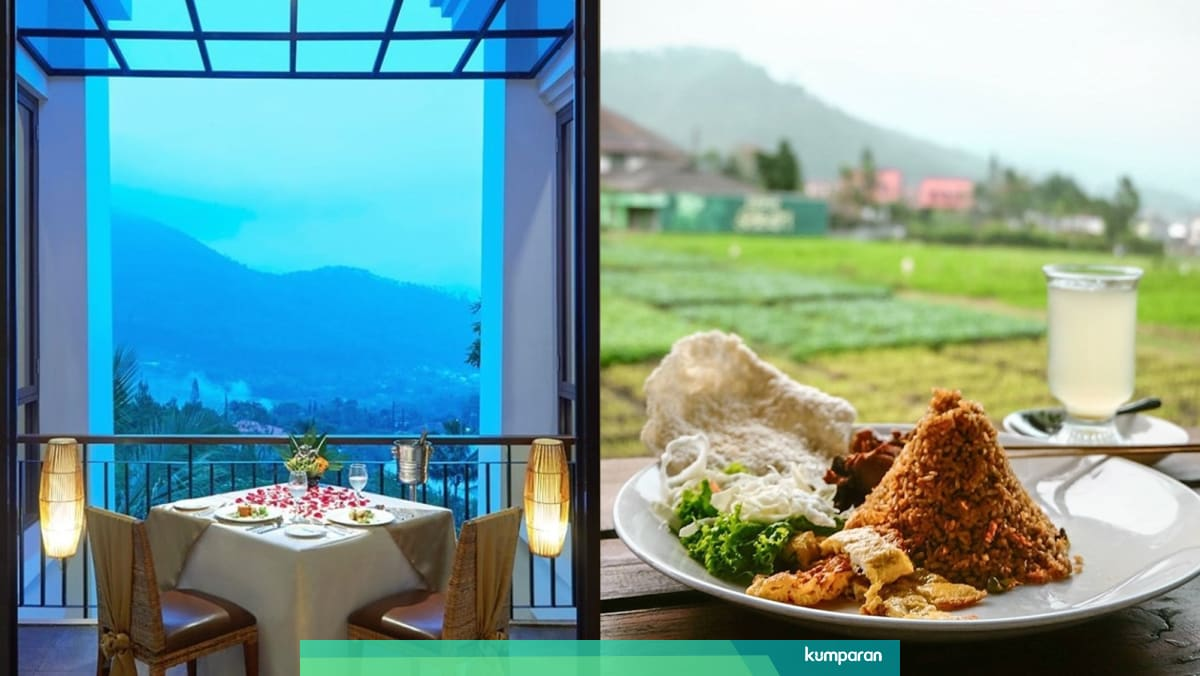 5 Restoran Dengan Pemandangan Paling Indah Di Malang Kumparan Com