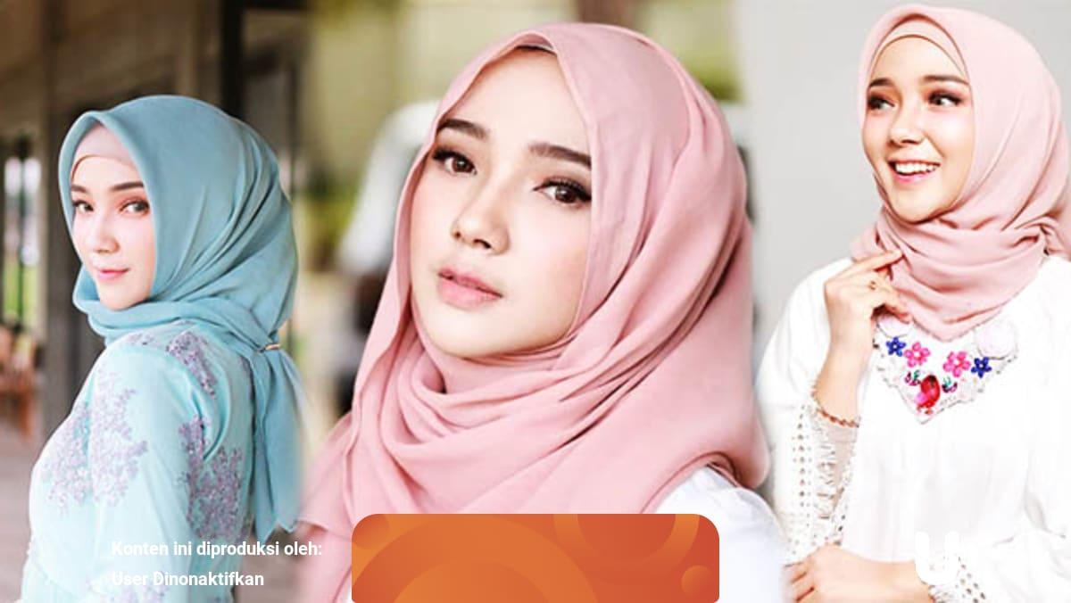 Tutorial Hijab Untuk Muka Lonjong Ini