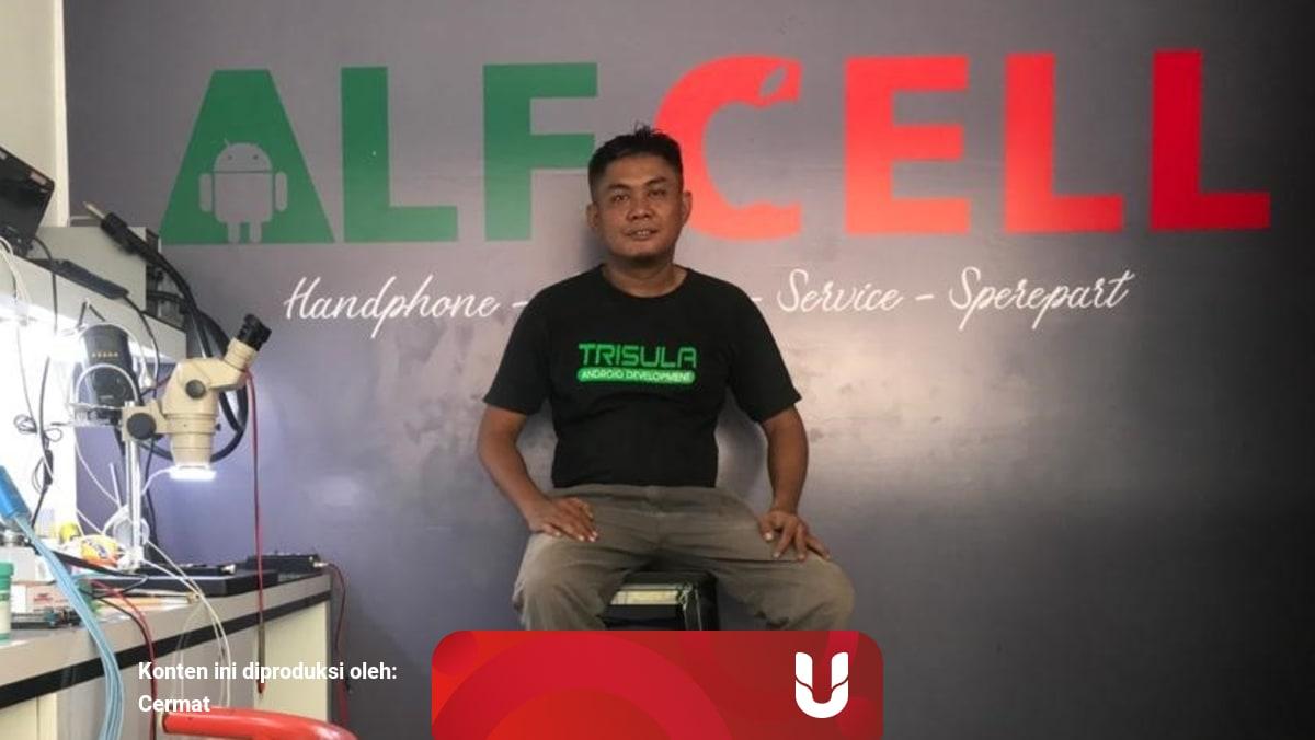 Kisah Jamaluddin Membangun Usaha Servis Hp Di Ternate Kumparan Com