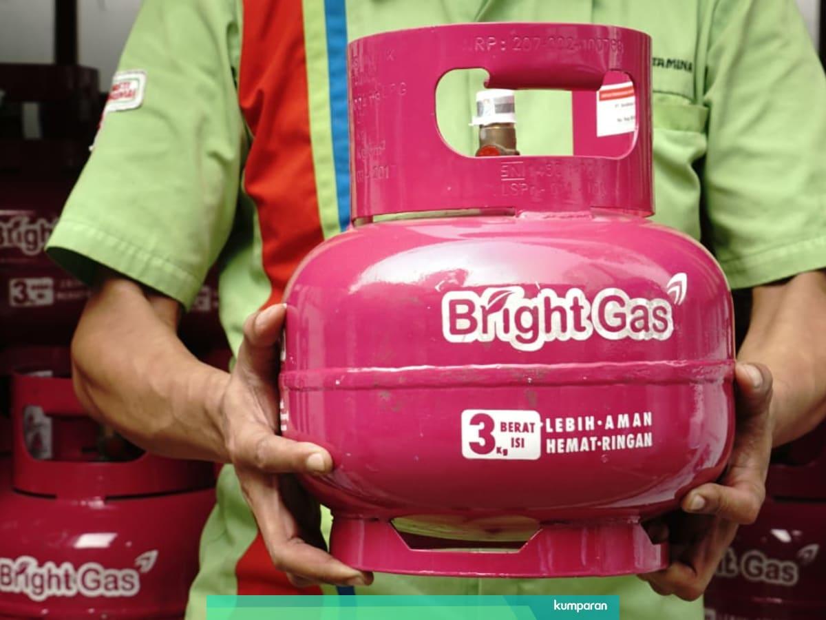Ada Bright Gas 5 5 Kg Kok Pertamina Bikin Lpg 3 Kg Nonsubsidi Kumparan Com