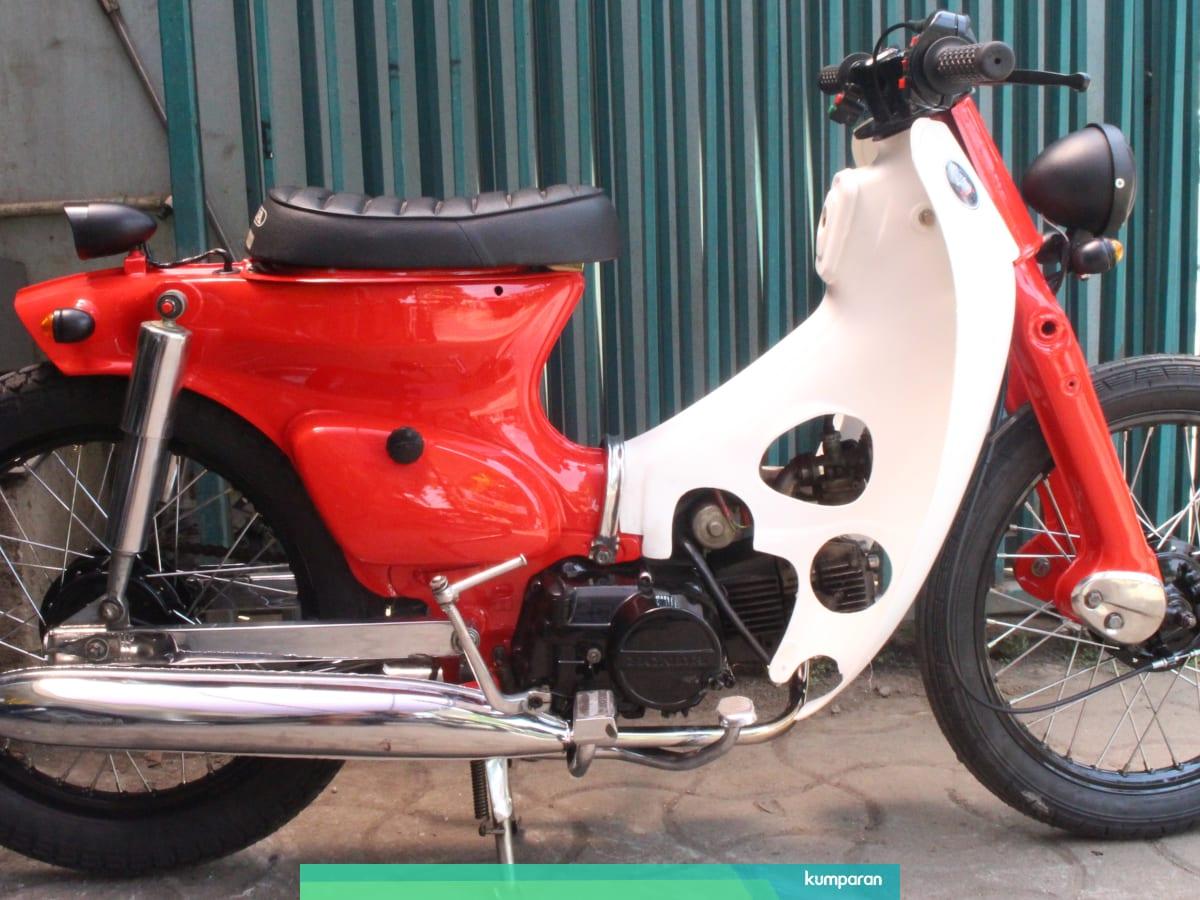 Transformasi Honda Legenda Jadi Street Cub Kekinian Dengan Rp 5 Juta Kumparan Com