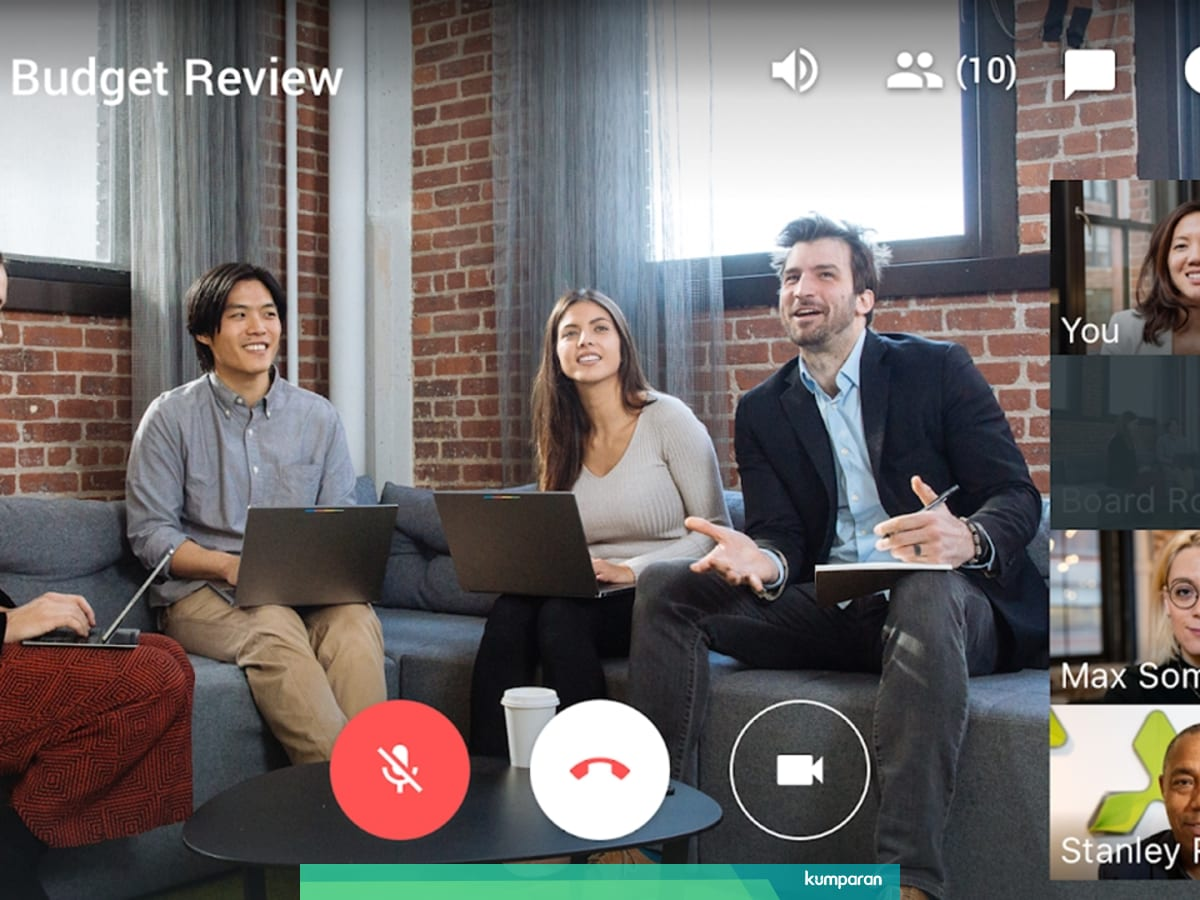 Cara Pakai Google Hangouts Meet Di Hp Dan Laptop Untuk Video