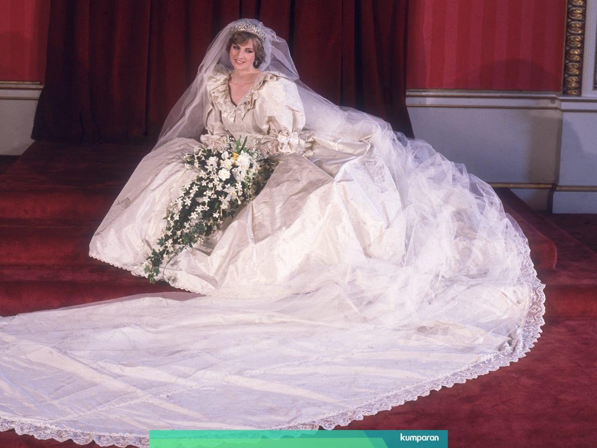 Disebut Wedding of Century, Ini 9 Fakta Gaun Pengantin Putri