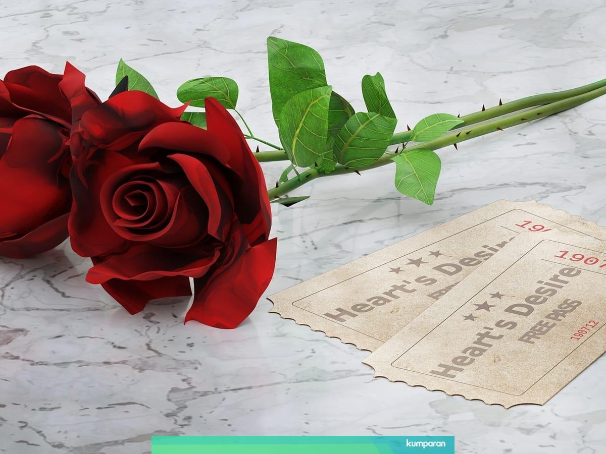 Alasan Mengapa Mawar Merah Sering Diasosiasikan Sebagai Lambang Cinta Kumparan Com