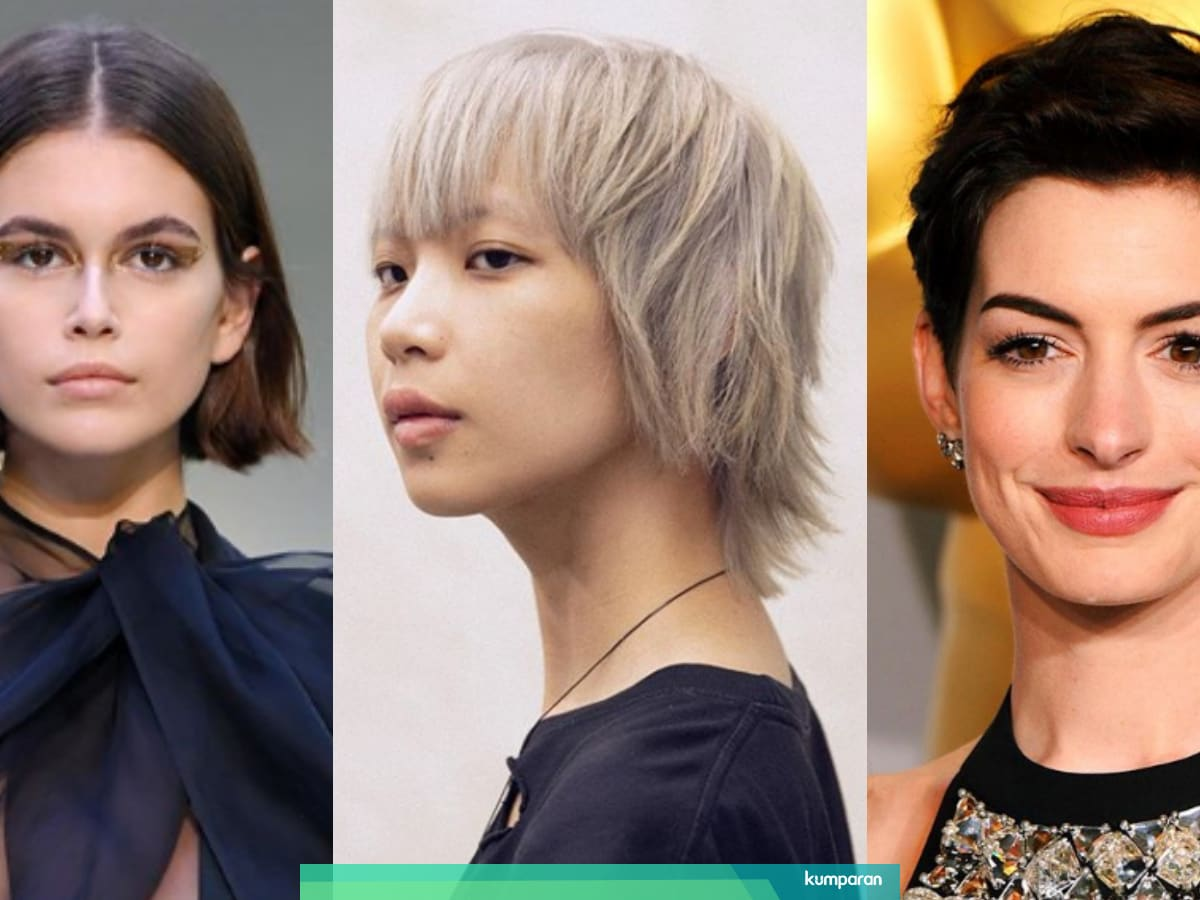 Inspirasi Model Rambut Pendek Wanita Untuk Tampil Beda Di 2020 Kumparan Com