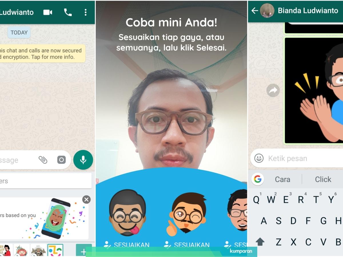 Begini Cara Bikin Emoji Diri Sendiri Pakai Aplikasi Gboard Android Kumparan Com