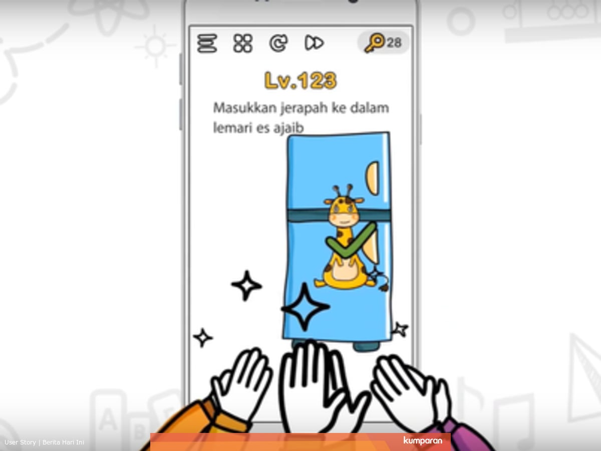 Kunci Jawaban Brain Out Level 61 Sampai 70 Kumparan Com