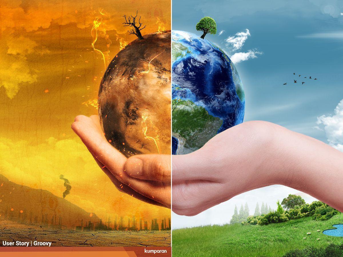 kejarmimpi mengatasi global warming