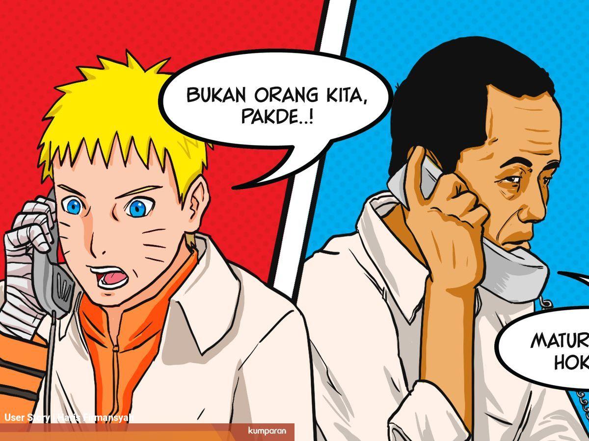 Sudah Waktunya Indonesia Berafiliasi Dengan Desa Ninja Naruto Kumparan Com