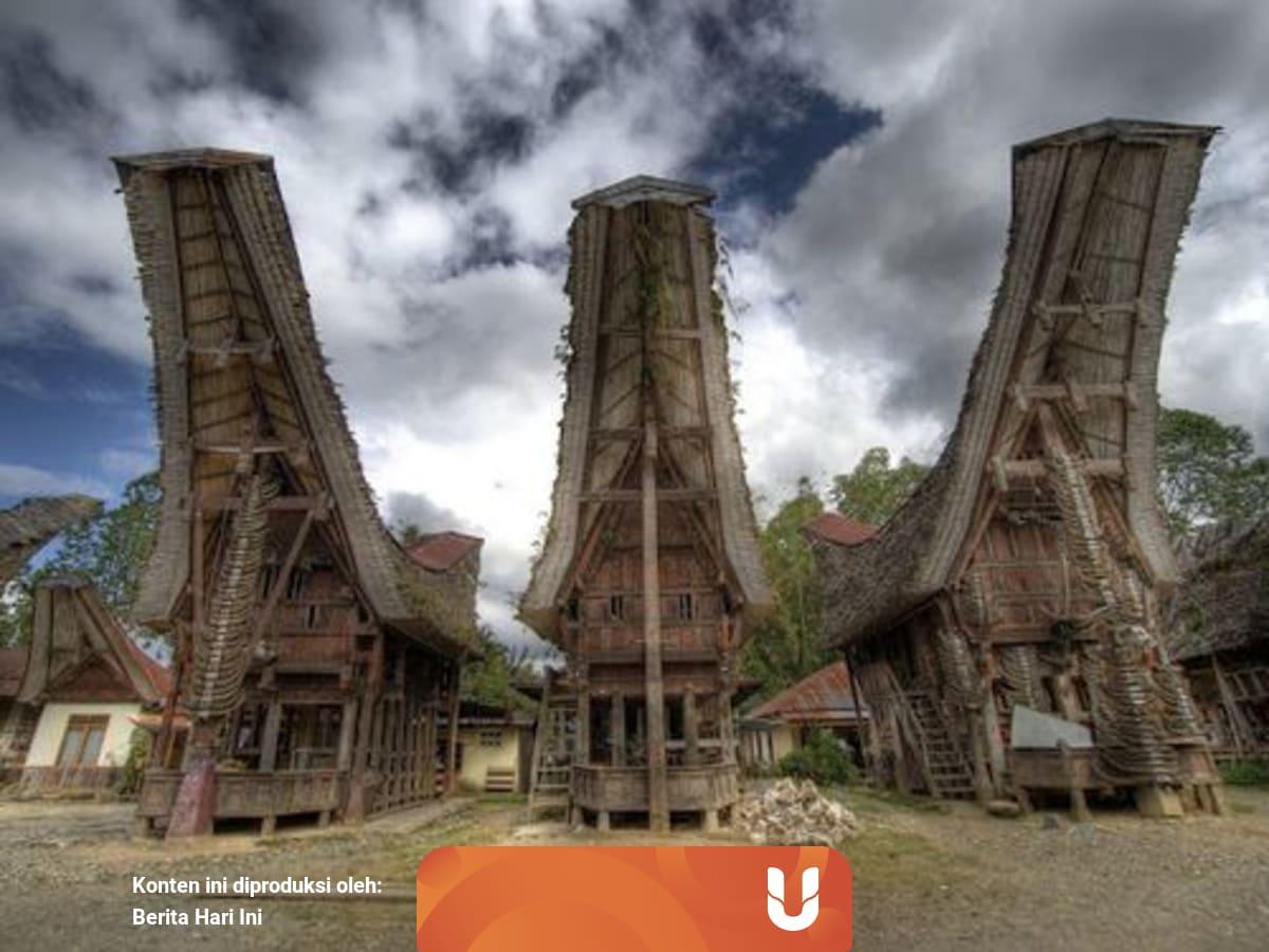 Tongkonan Rumah Adat Toraja Yang Punya Keunikan Struktur Bangunan Kumparan Com