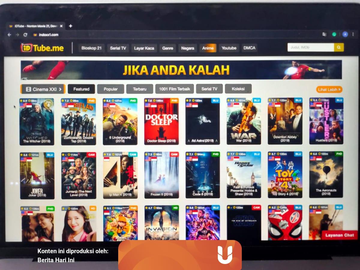 Indoxxi Dan Lk21 Tak Ada Coba 6 Situs Nonton Dan Download Film Legal Kumparan Com