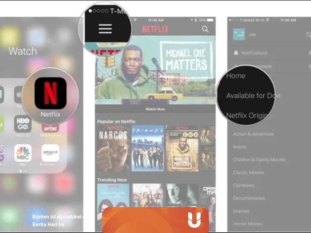 Cara Download Film Lewat Aplikasi Streaming Legal Di Smartphone Kumparan Com