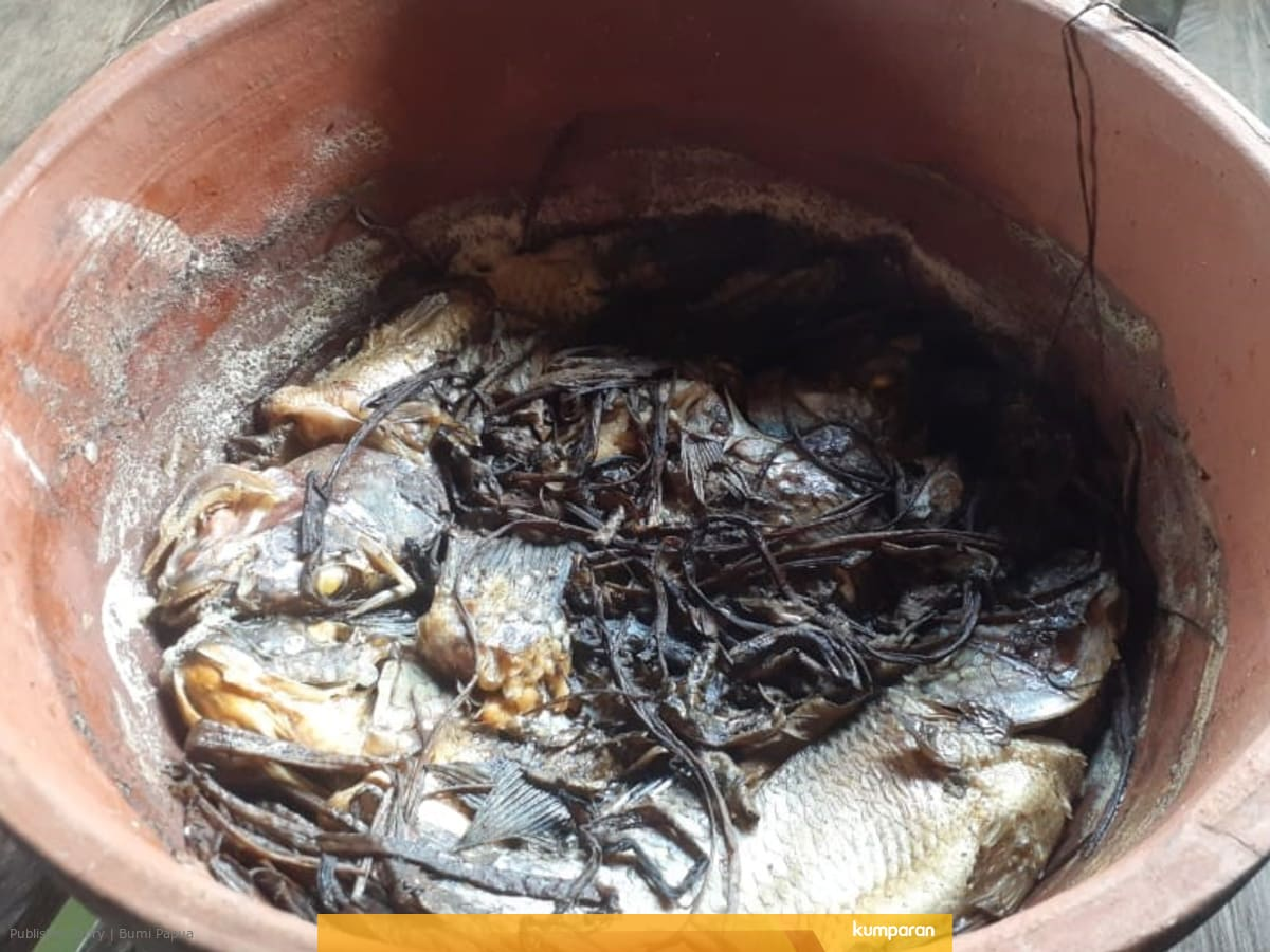Resep Leluhur Presto Ikan Mujair Danau Sentani Papua Kumparan Com
