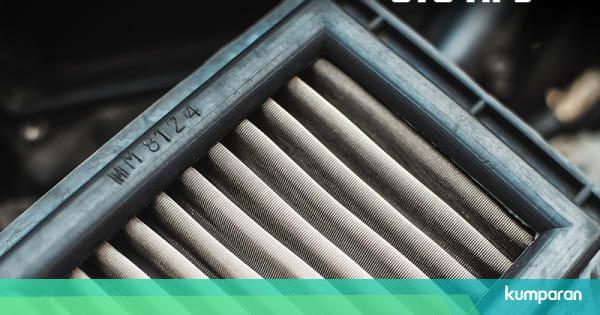 4 Jenis Filter Udara Sepeda Motor dan Interval ...