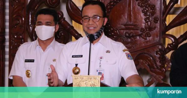Hoaks Anies Perpanjang PSBB Jakarta Sampai 18 Juni