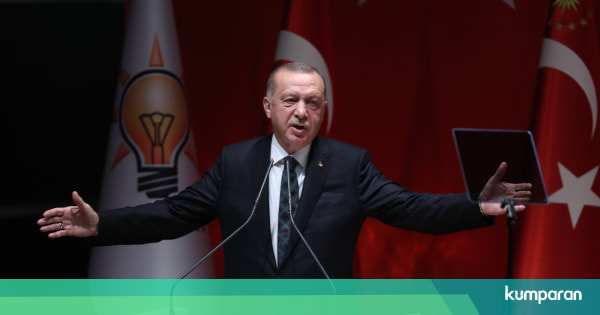Erdogan: Negara Barat yang Serang Islam Picu Perang Salib