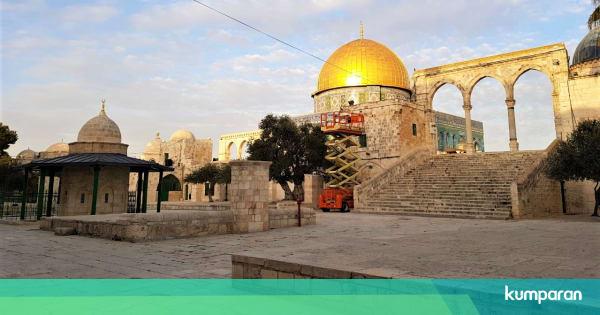 Dua Bulan Lebih Tutup, Masjid Al-Aqsa Resmi Kembal