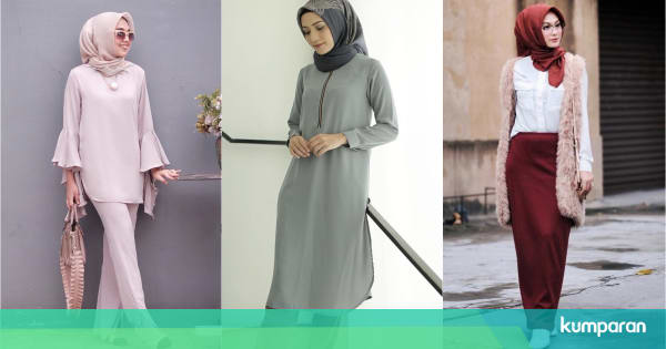 7 Inspirasi Busana Kerja Ala Selebgram Hijab Yang Bisa Kamu