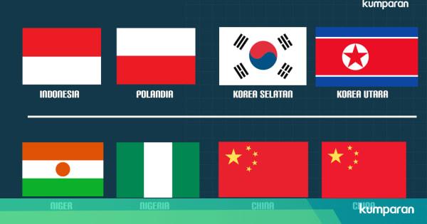 Insiden Salah Bendera Di Turnamen Olahraga Dunia Kumparan Com