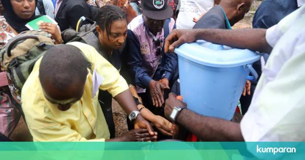 Kongo Kembali Konfirmasi 2 Kasus Virus Ebola