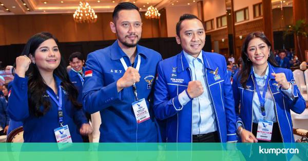 AHY Resmi Jadi Ketum Demokrat Gantikan SBY