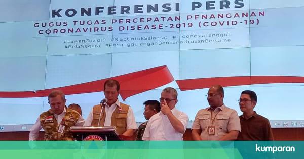 Breaking News: Kasus Positif Corona di Indonesia Capai 96 Orang