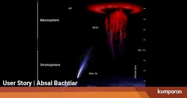 Fenomena Cahaya Ubur-Ubur di Langit Bumi
