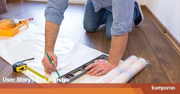 Wallpaper Dinding Desain Sendiri  6 trik memasang wallpaper di dinding apartemen sendiri