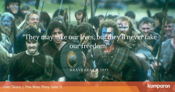 Braveheart 1995 Kumparan Com
