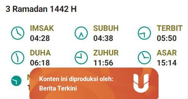 Jadwal Imsak Jakarta 3 Ramadhan, 15 April 2021 dari ...