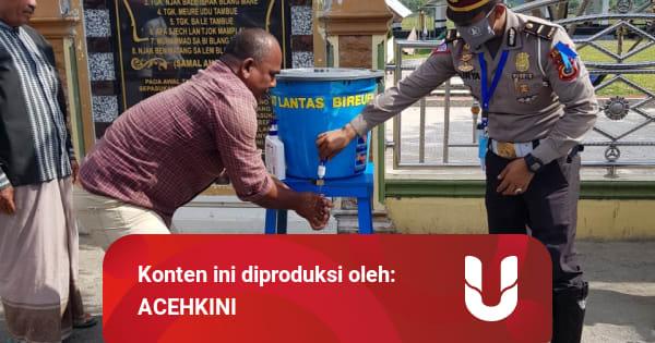 Sisihkan Gaji, Polisi Lalu Lintas Bireuen di Aceh Bikin ...