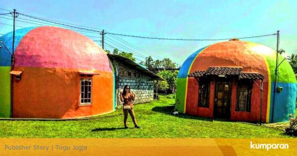 Rumah Dome Kampung Eskimo Dari Yogyakarta Kumparan Com