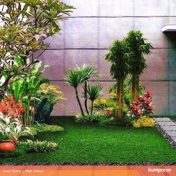 Design Dapur Menyatu Dengan Taman  tips membuat desain taman minimalis yang bisa kamu coba