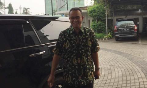 Anies di kantor DPP PKS.