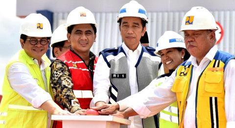 Jokowi, Tol Pejagan-Pemalang dan Pemalang-Batang