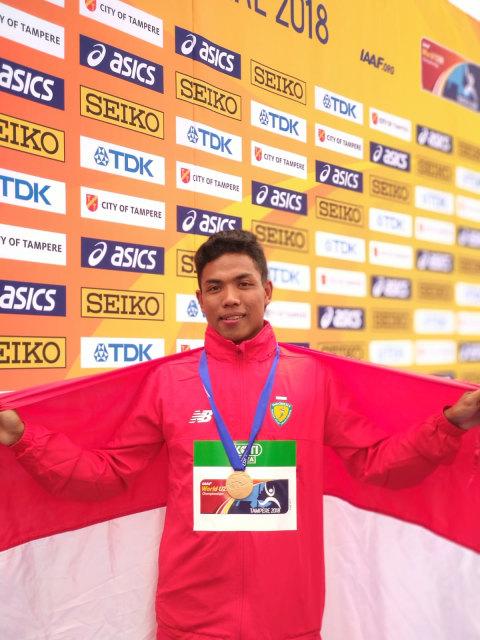 Lalu Muhammad Zohri raih medali emas