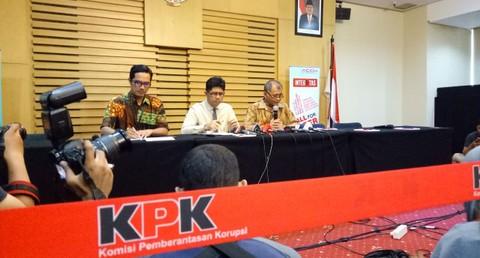 Konferensi Pers OTT Pejabat Bakamla