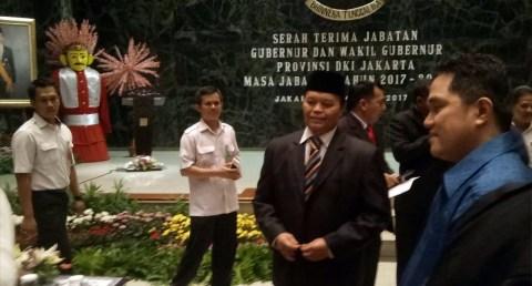 Hidayat Nur Wahid di Balai Kota