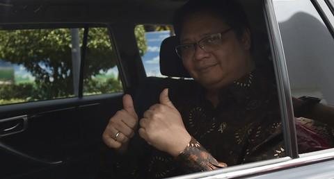Politisi Golkar Airlangga Hartarto.
